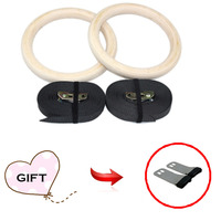 Gymnastics Training Rings Gym Rings Environmental High Intensity Customizable With Adjustable Strap