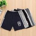 2017 летние дети мальчики шорты Новая мода мальчики хлопок печатных шорты Большие Мальчики спортивные Шорты мужской пляж Дети короткие штаны
