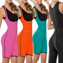 2016 Hot Selling Both Sides Sport One Piece Body Shaper Body Suit Butt Lifter Gym Fitness Slimming Fitness Sweat Corset