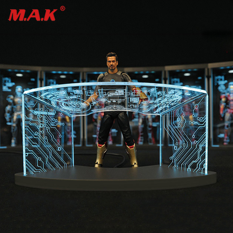 1/12 comicave 6pass type SHF workshop scene test desk for iron man Toni scene debugging table in the future1/12 comicave 6pass type SHF workshop scene test desk for iron man Toni scene debugging table in the future