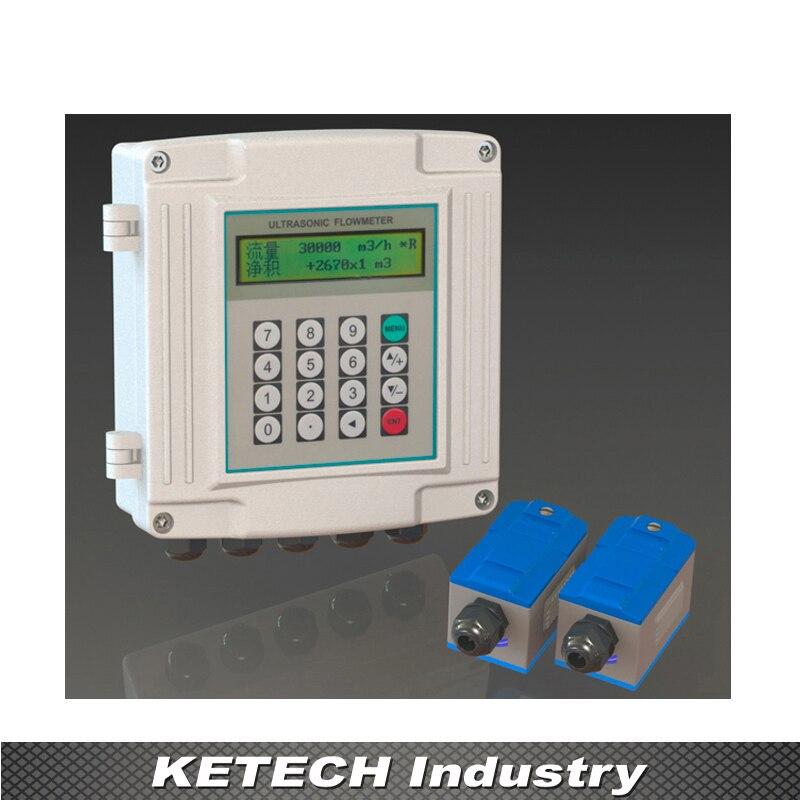 TUF-2000S настенный Тип ультразвуковой потока жидкости расходомер