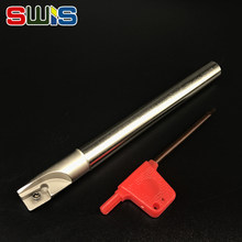 BAP300R C12 12 130 10mm 130mm long Milling Cutter Holder Roughing Pocket Shoulder Tool Holder milling for apmt1135 cnc inserts(China)