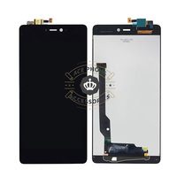 5pcs Black Full LCD Display Touch Screen Digitizer Assembly For Xiaomi Mi 4c Mi4c Free Shipping