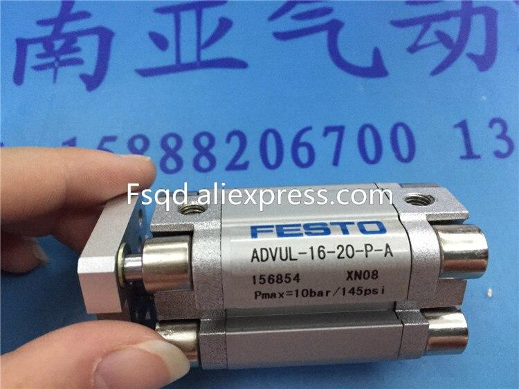 ADVUL-16-20-P-A ADVUL-16-25-P-A 156854 ADVUL-16-50-P-A FESTO thin cylinder paiste 16 rude thin