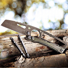 RyingL outdoor multi-tool knife / multi-purpose rescue tool card knife / Swiss Army Knife / Fruit knife(China)