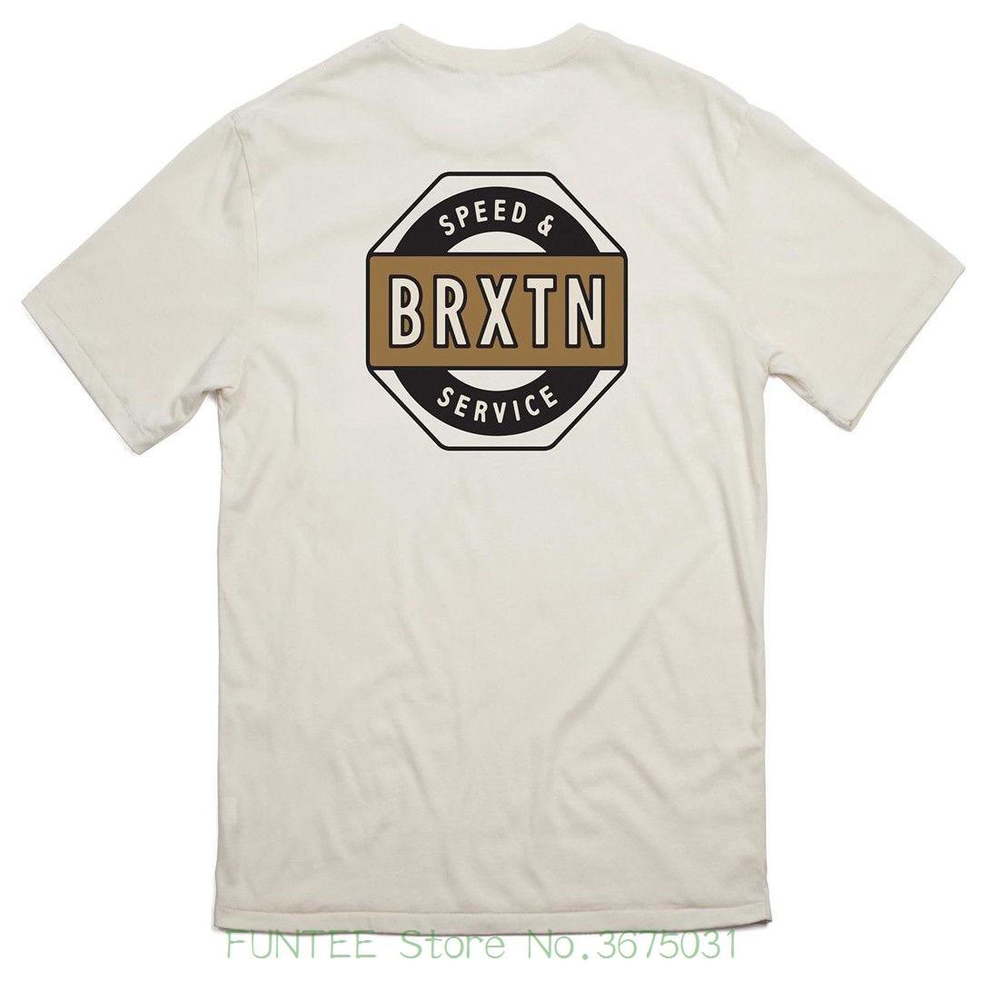 585ad36dcf5c New Fashion Men s Short Sleeve Brixton
