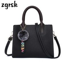 Female Luxury Handbags Women Bags Designer Casual Tote Trendy Fashion Pu Leather Handbag Messenger Bag Shoulder Bag High Quality купить недорого в Москве