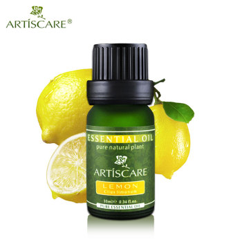 100% Natural Pure Lemon Essential Oil 10ml for Brightening and Whitening Beauty Care
