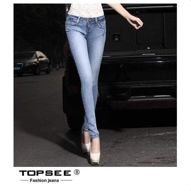 ФОТО 2016 Summer Plus Size European Style Slim Women Pencil Pant Trousers Slim Skinny Jeans c3283