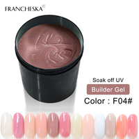 Camouflage Gel Builder gel 1KG Finger Nail Extension Nail Polish Cover UV Gel jelly builder quickly transparent pink clear white