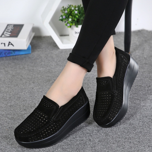 Spring Women Flat Shoes...