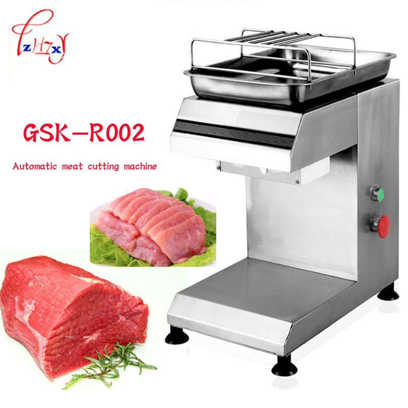 Meat Slicer Electric Cutter Home Kitchen stainless steel Automatic Professional meat Cutting Machine 2-25mm Blade thickness 1pc gqd kie 001 stainless steel kiwi slicer cutter rind removal tool silver
