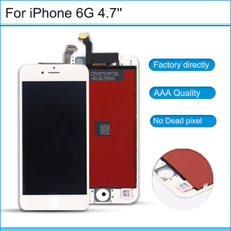 NEw repair parts AAA Grade LCD Touch Screen Digitizer Assembly Front Screen LCD Display Replacement For iPhone 6 6g 6 plus