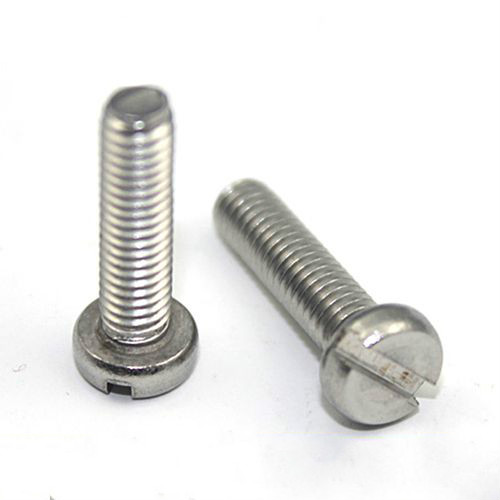 Shop1796553 Store 10PCS Stainless Steel 304 Word Slotted Cheese Head Screws M2.5 * 6 GB65