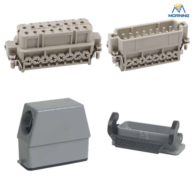 HA-016 16A 16pins Heavy Duty Connector whole set