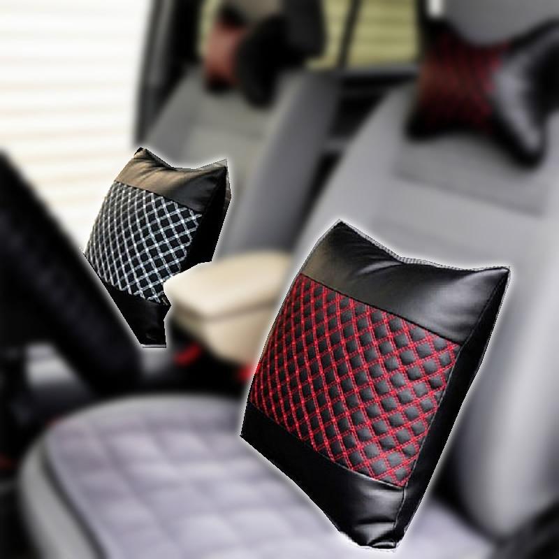 Soporte lumbar del coche de alto grado almohada del respaldo del - Accesorios de interior de coche