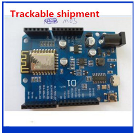 2pcs only good quality Smart Electronics ESP-12E WeMos D1 WiFi uno based ESP8266 shield for arduino Compatible