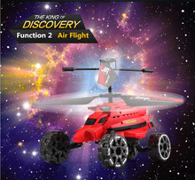 Kids rc toys discovery Attop rc drone YD-922 Electronic RC Helicopter Three in one air land air chariot with Missile Fire