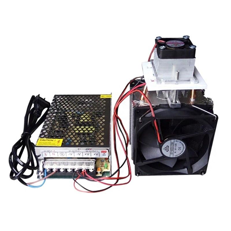 12 V 10A électronique semi-conducteur radiateur réfrigérateur Production refroidisseur système de refroidissement bricolage avec alimentation EU 220 V