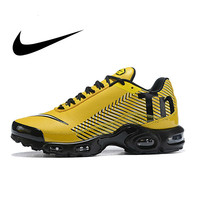 Original NIKE AIR MAX PLUS TN Men's Breathable Running Shoes Sports Sneakers Trainers outdoor sports shoes AQ0243 007