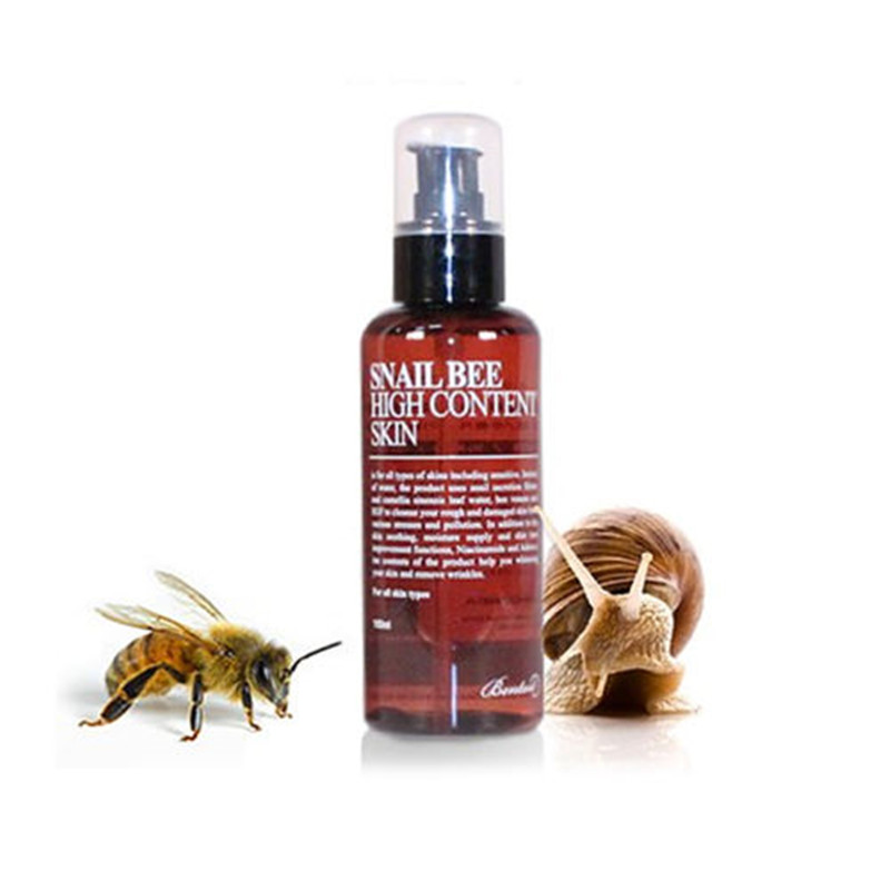 BENTON Snail Bee High Content Skin 150ml Face Toner Facial Skin Care Moisturizing Whitening Anti Wrinkle Acne TreatmentBENTON Snail Bee High Content Skin 150ml Face Toner Facial Skin Care Moisturizing Whitening Anti Wrinkle Acne Treatment