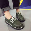 New Arrival Lace-up Women Zapatos Mujer Women Classic Canvas Casual Shoes Tacon Casual Light Shoes Chaussure Femme Ladies Shoes
