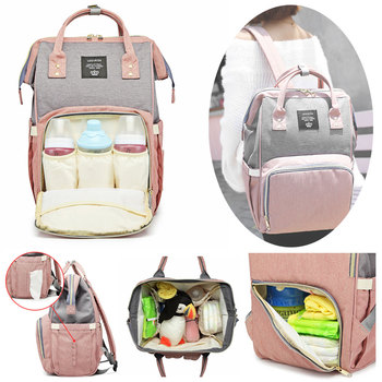 Lequeen diaper bags fashion baby bag stroller diaper bag waterproof baby bags for mom backpack for mom and daddy diaper backpack