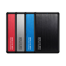 2,5 дюймов USB 3,0 SATA Hd коробка жесткий диск HDD внешний корпус HDD черный корпус инструмент бесплатно 5 Гбит/с Поддержка UASP для SSD/2 ТБ жесткий диск