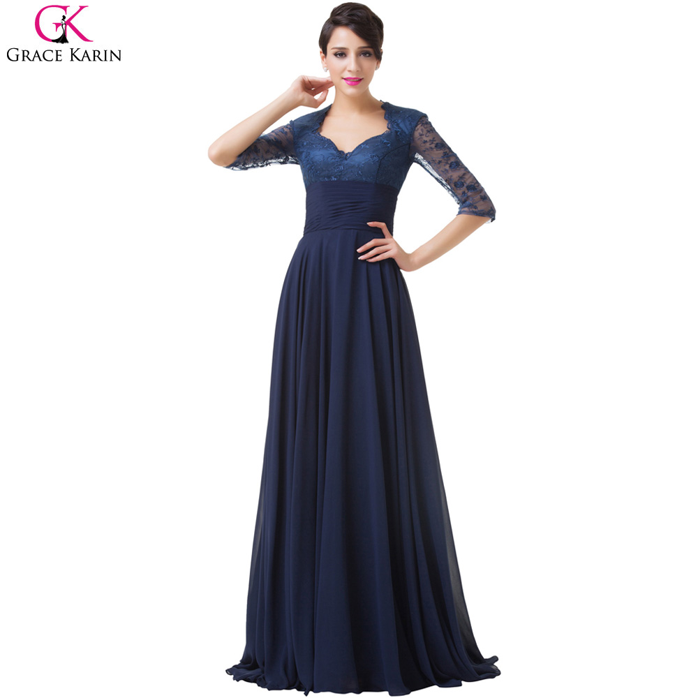 Buy grace karin half sleeve lace mother for Mothers dresses for a wedding