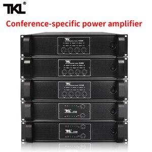 Image 1 - TKL 4 채널 증폭기 300W X4 회의 증폭기 오디오 전문 전력 증폭기 스위칭 전원 공급 장치 HIFI