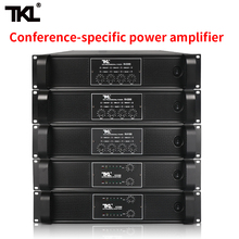 все цены на TKL 4 Channel Amplifier 300W X4 Conference Amplifier Audio Professional Power Amplifier Switching Power Supply HIFI онлайн