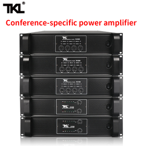 Image 1 - TKL 4 Channel Amplifier 300W X4 Conference Amplifier Audio Professional Power Amplifier Switching Power Supply HIFI