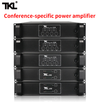 TKL 4 Channel Amplifier 300W X4 Conference Amplifier Audio Professional Power Amplifier Switching Power Supply HIFI