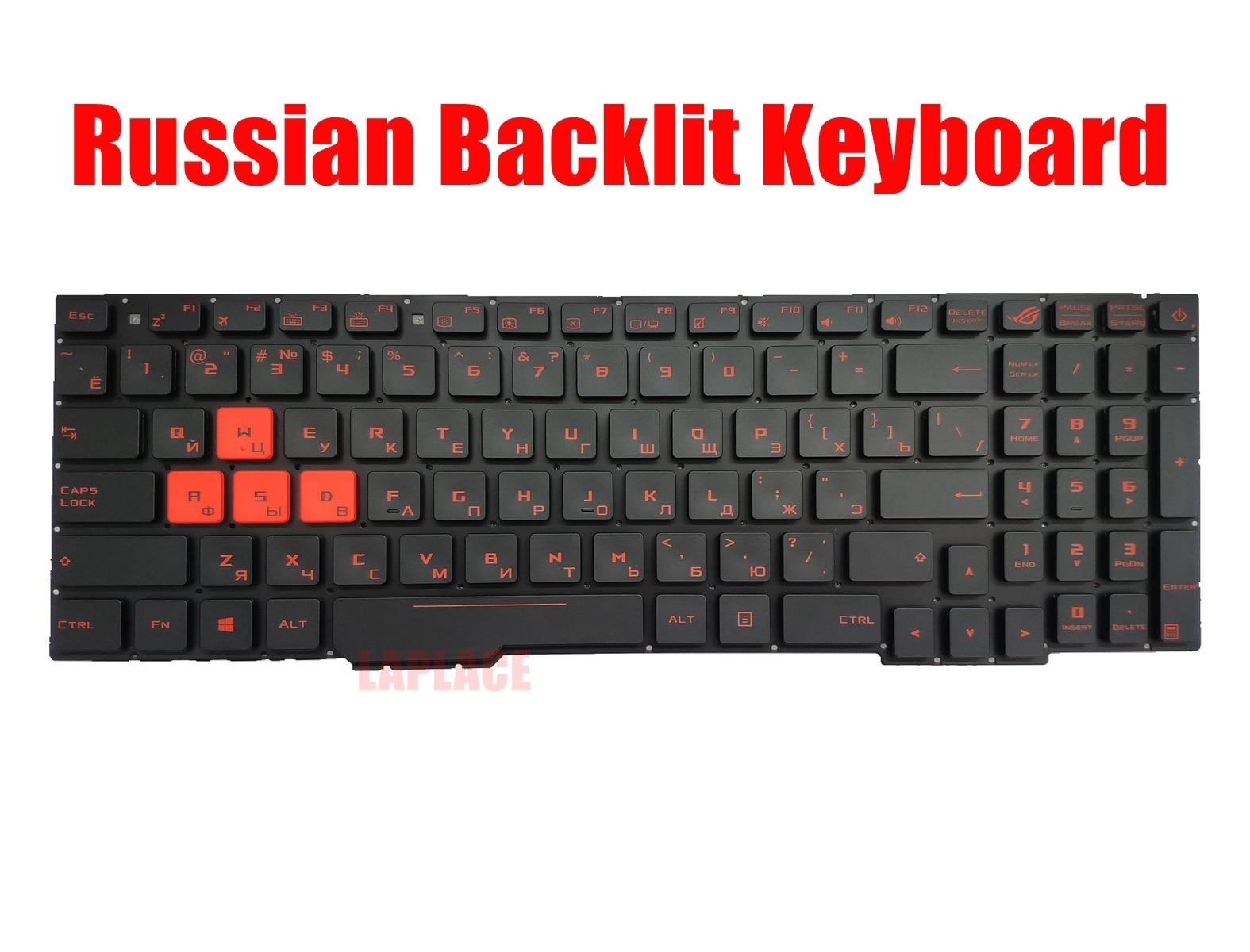 GAOCHENG Laptop Keyboard for ASUS G55 G55VW Black with Gray Frame with Backlight V132662AK2 SK 0KNB0-B411SK00 0KN0-MK1SK21 Slovakian SK