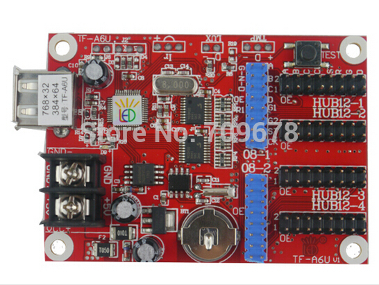 5 pcs lot TF A6U LongGreat USB Driver Port LED Control Card In Stock