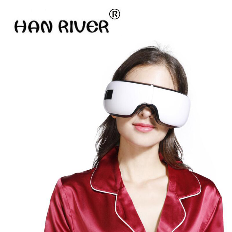 Application thermique de dispositif sans fil doeil de HANRIVER 2018 pour protéger loeil pour réduire le dispositif de massage doeil de fatigue doeil