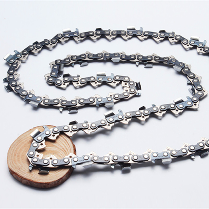 Hardware Chainsaw Parts Chains 3/8Pitch ( .063 Guage ) 1640 Link 100Feet/Roll 75V chains enclose 25 foot empty spools chainsaw chains sae8660 hu365 3 8 pitch 058 1 5mm guage 18 inch 68dl saw chains