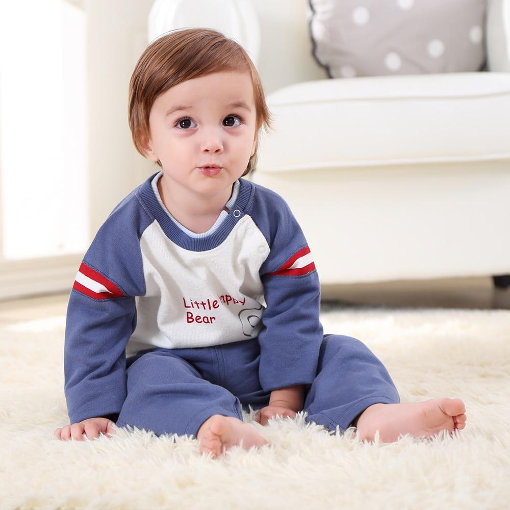 Baby Boys Geyim dəsti Uşaq oğlan geyimləri Xarici paltar - Körpələr üçün geyim - Fotoqrafiya 2