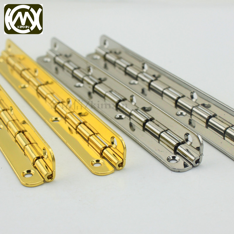 10pc 10*115mm in stock Wooden box hardware metal hinge Furniture and cabinet hardware Hinges for kitchen cabinets KIMXIN W-072
