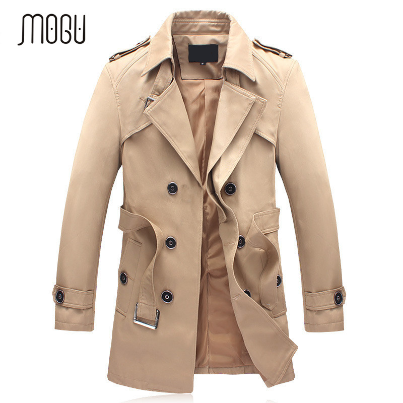 Online Get Cheap Black Trench Coats Men -Aliexpress.com | Alibaba ...