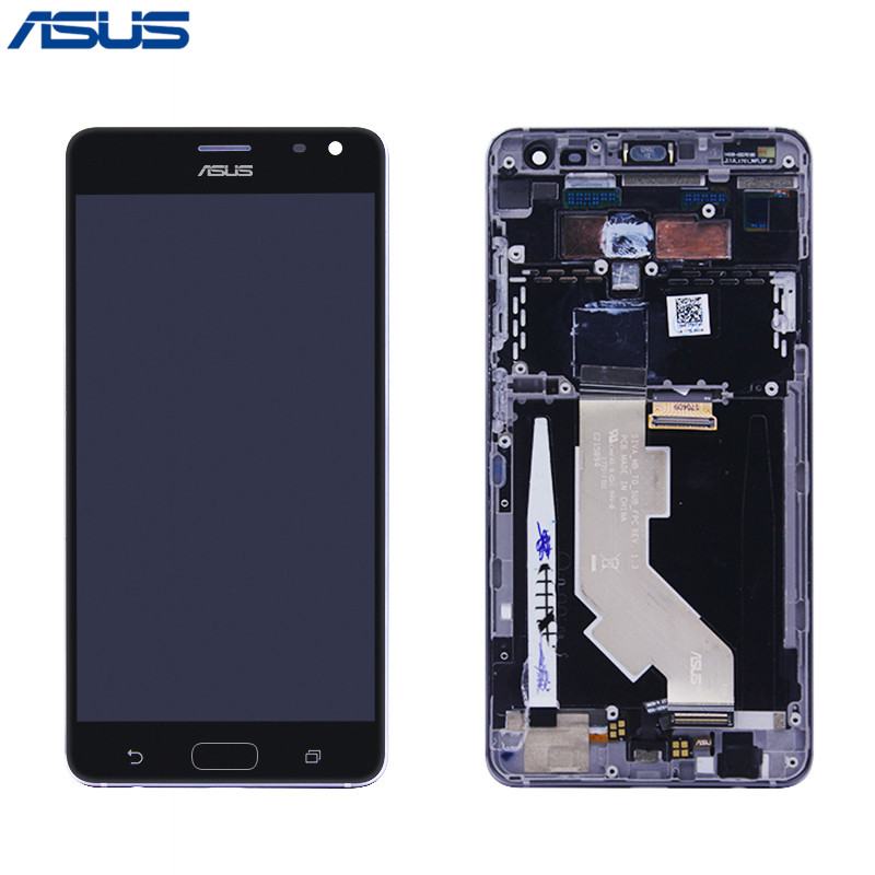 Asus ZS571KL Original Screen Black LCD Display Touch screen digitizer Assembly with Frame For Asus ZenFone
