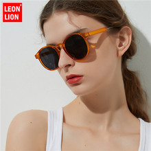 LeonLion New Leopard Sunglasses Women/Men Classic Round Outdoor Oculos De Sol Gafas UV400 Brand Designer Driving Sun Glasses стоимость