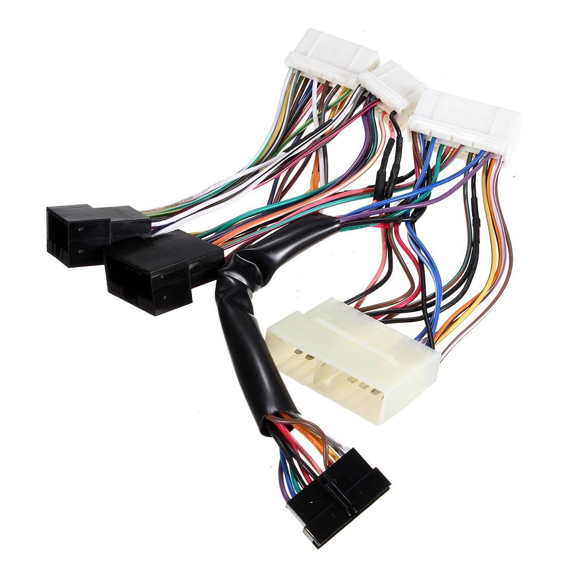 Car OBD0 to OBD1 ECU Conversion Jumper Wire Wiring Harness For Honda For CRV/Civic 1988 1989 1990 1991