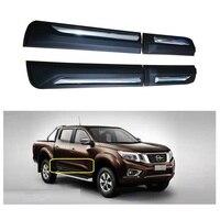 Внешние автомобильные аксессуары наборы тела двери Накладка автомобиля декоративная отделка плита Подходит для NISSAN NAVARA NP300 2015 2018 автомобил