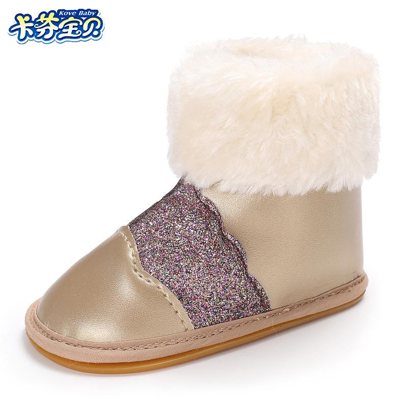 2bf9119aaf3a Best buy Winter Baby Girls Boys Snow Boot Infant Warm First Walkers Boots  Shoes Hard Rubber Bottom Sneakers Baby Booties 0 18 Months online cheap