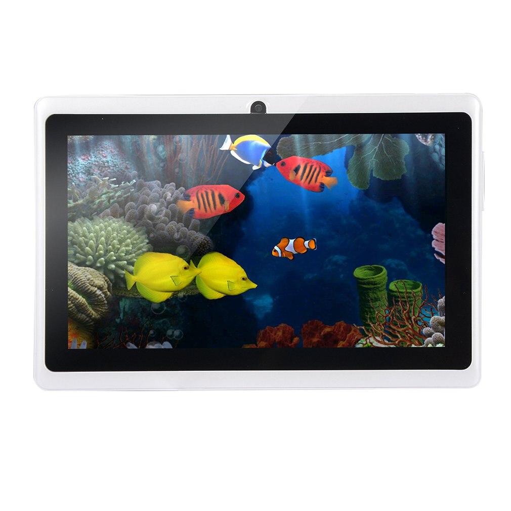 WIFI 7 pouces TFT écran bébé Machine d'apprentissage tablette ANDROID 1.5 GHz 512 M + 4 GB Android 4.4.2 double caméra enfant ordinateur portable enfants