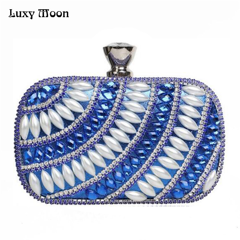 2017 Top Quality Evening Clutch Bag Luxury Diamond Silver Gold Red Black Day Clutch Wedding Party Purse Chain Handbags W847 2017 woman direct selling high grade luxury gold full diamond design female evening bag handbag party clutch wedding handbags