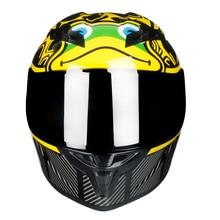 Pieno Viso moto rcycle Casco off raod capacetes de moto ciclista moto cross per le corse kask moto croce moto Timone