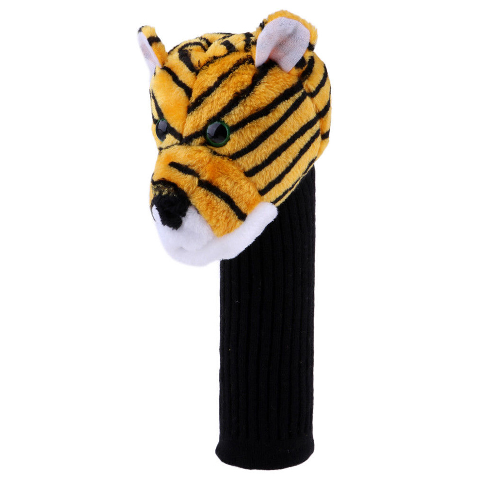 Купить с кэшбэком Golf Iron Putter Protective  Head Cover Cute Spotted Panda Golf Club Headcover Set
