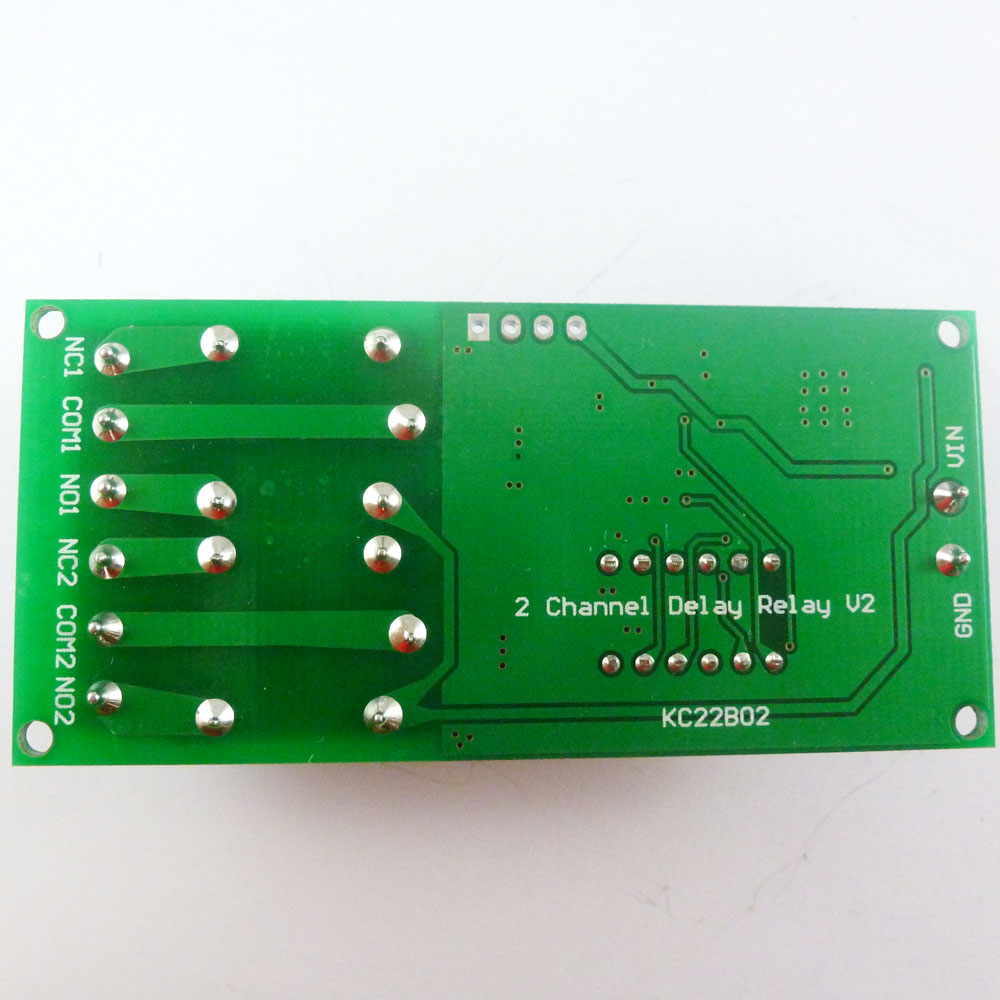 small resolution of dc 12v 2 channel multifunction delay timer module delay relay cyclic relay wiring diagram
